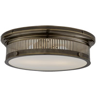 E. F. Chapman Alderly 2 Light 16 inch Bronze Flush Mount Ceiling Light