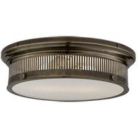 Visual Comfort CHC4392BZ-WG E. F. Chapman Alderly 2 Light 16 inch Bronze Flush Mount Ceiling Light