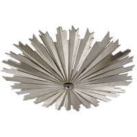 Visual Comfort CHC4402BSL E. F. Chapman Claymore LED 28 inch Burnished Silver Leaf Flush Mount Ceiling Light