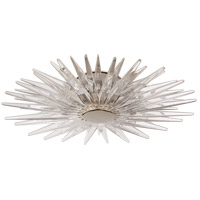 E. F. Chapman Quincy LED 20 inch Polished Nickel Flush Mount Ceiling Light