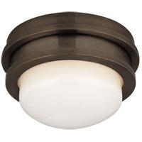 Visual Comfort CHC4600BZ-WG E. F. Chapman Launceton LED 5 inch Bronze Flush Mount Ceiling Light, Petite