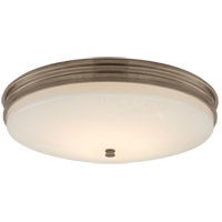 Visual Comfort CHC4603AN-WG Chapman & Myers Launceton LED 17 inch Antique Nickel Flush Mount Ceiling Light, Medium
