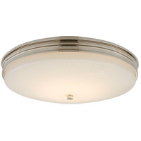 Visual Comfort CHC4603PN-WG Chapman & Myers Launceton LED 17 inch Polished Nickel Flush Mount Ceiling Light, Medium