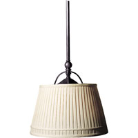 Visual Comfort CHC5101BZ-L E. F. Chapman Sloane 2 Light 16 inch Bronze Hanging Shade Ceiling Light in Linen