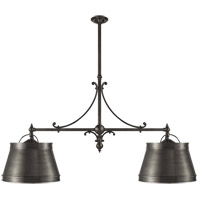 E. F. Chapman Sloane 4 Light 54 inch Bronze Linear Pendant Ceiling Light