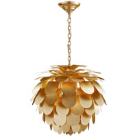 Visual Comfort CHC5157G E. F. Chapman Cynara 1 Light 29 inch Gild Chandelier Ceiling Light, Large