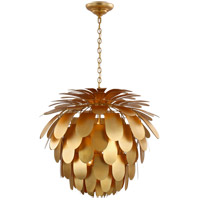 Visual Comfort CHC5158G E. F. Chapman Cynara 6 Light 37 inch Gild Chandelier Ceiling Light Grande
