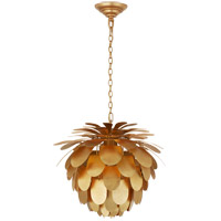 Visual Comfort CHC5163G E. F. Chapman Cynara 1 Light 17 inch Gild Chandelier Ceiling Light Small