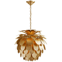 Visual Comfort CHC5165G E. F. Chapman Cynara 1 Light 23 inch Gild Chandelier Ceiling Light, Medium