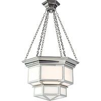 Visual Comfort E.F. Chapman Cornice 2 Light Ceiling Lantern in Polished Nickel CHC5170PN