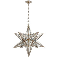 E. F. Chapman Moravian Star 1 Light 30 inch Burnished Silver Leaf Pendant Ceiling Light