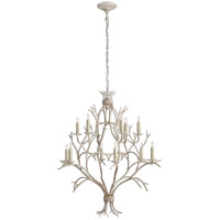 Visual Comfort CHC5470OW E. F. Chapman Branch 12 Light 33 inch Old White Chandelier Ceiling Light
