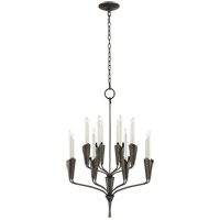 Visual Comfort CHC5501AI Chapman & Myers Aiden 16 Light 24 inch Aged Iron Chandelier Ceiling Light, Small