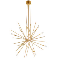 Visual Comfort CHC5600G Chapman & Myers Stellar LED 40 inch Gild Chandelier Ceiling Light, Large