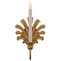 Visual Comfort CHD1125GI E. F. Chapman Marlborough 1 Light 8 inch Gilded Iron with Wax Decorative Wall Light