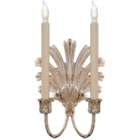Visual Comfort E.F. Chapman Marlborough 2 Light Decorative Wall Light in Old White CHD1126OW