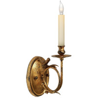 Visual Comfort CHD1158GI E. F. Chapman Perching Bird 1 Light 5 inch Gilded Iron with Wax Decorative Wall Light