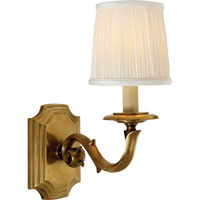 Visual Comfort E.F. Chapman Sussex 1 Light Decorative Wall Light in Antique-Burnished Brass CHD1170AB