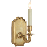 Visual Comfort E.F. Chapman Kensington 1 Light Decorative Wall Light in Antique-Burnished Brass CHD1174AB