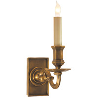 Visual Comfort E.F. Chapman 1 Light Decorative Wall Light in Antique-Burnished Brass CHD1175AB