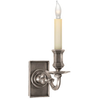 Visual Comfort E.F. Chapman 1 Light Decorative Wall Light in Antique Nickel CHD1175AN