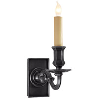 Visual Comfort E.F. Chapman 1 Light Decorative Wall Light in Bronze with Wax CHD1175BZ
