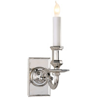 Visual Comfort E.F. Chapman 1 Light Decorative Wall Light in Polished Silver CHD1175PS