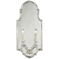 Visual Comfort CHD1184PN E. F. Chapman Sussex 2 Light 10 inch Polished Nickel Decorative Wall Light