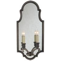 Visual Comfort CHD1184SN E. F. Chapman Sussex 2 Light 10 inch Sheffield Nickel Decorative Wall Light