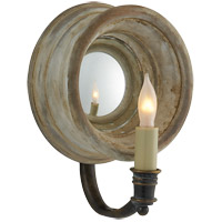 Visual Comfort E.F. Chapman Chelsea 1 Light Decorative Wall Light in Old White CHD1185OW photo thumbnail