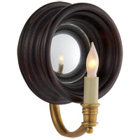 Visual Comfort E.F. Chapman Chelsea 1 Light Decorative Wall Light in Tudor Brown Stain CHD1185TB