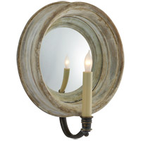 Visual Comfort E.F. Chapman Chelsea 1 Light Decorative Wall Light in Old White CHD1186OW