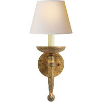Visual Comfort CHD1404GI-NP E. F. Chapman Iron Torch 1 Light 8 inch Gilded Iron with Wax Decorative Wall Light