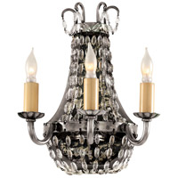 Visual Comfort CHD1409SHS-SG E.F. Chapman Paris Flea Market 3 Light 7 inch Sheffield Silver Decorative Wall Light