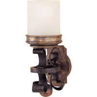 Visual Comfort E.F. Chapman Castle 1 Light Decorative Wall Light in Weathered Iron CHD1460WI