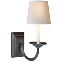 Visual Comfort CHD1495AI-NP E. F. Chapman Flemish 1 Light 7 inch Aged Iron Decorative Wall Light