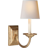 Visual Comfort CHD1495GI-NP E. F. Chapman Flemish 1 Light 7 inch Gilded Iron with Wax Decorative Wall Light