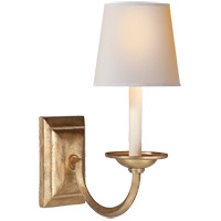Visual Comfort CHD1495GI-NP E. F. Chapman Flemish 1 Light 7 inch Gilded Iron Decorative Wall Light