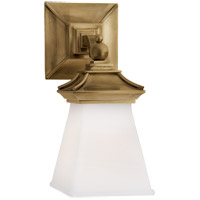 Visual Comfort CHD1515AB-WG E. F. Chapman Chinoiserie 1 Light 5 inch Antique-Burnished Brass Bath Wall Light
