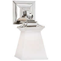 Visual Comfort CHD1515PN-WG E. F. Chapman Chinoiserie 1 Light 5 inch Polished Nickel Bath Wall Light