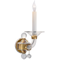 Visual Comfort CHD1525AB E. F. Chapman Stacked Ball 1 Light 5 inch Antique-Burnished Brass Decorative Wall Light in Antique Burnished Brass
