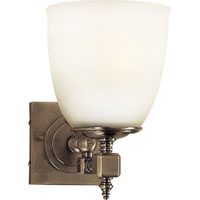 E. F. Chapman Essex 1 Light 6 inch Antique Nickel Bath Wall Light