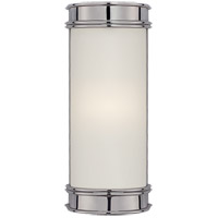 E. F. Chapman Oxford 1 Light 3 inch Chrome Bath Wall Light in 8.5 in. H