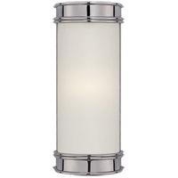 Visual Comfort CHD1550CH-FG E. F. Chapman Oxford 1 Light 3 inch Chrome Bath Wall Light in 8.5 in. H