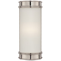 Visual Comfort CHD1550PN-FG E. F. Chapman Oxford 1 Light 3 inch Polished Nickel Bath Wall Light in 8.5 in. H