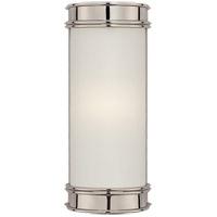 Visual Comfort CHD1550PN-FG E. F. Chapman Oxford 1 Light 3 inch Polished Nickel Bath Wall Light in 8.5 in. H