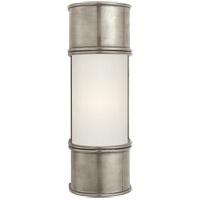 Visual Comfort CHD1551AN-FG E. F. Chapman Oxford 1 Light 4 inch Antique Nickel Bath Wall Light in 12 in. H