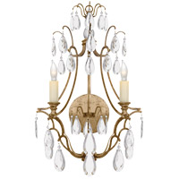 Visual Comfort CHD1555GI-CG E. F. Chapman Penhurst 2 Light 12 inch Gilded Iron Decorative Wall Light