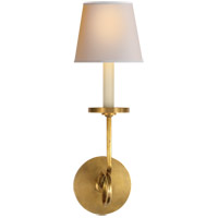 Visual Comfort CHD1610AB-NP E. F. Chapman Symmetric Twist 1 Light 5 inch Antique-Burnished Brass Decorative Wall Light