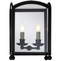 Visual Comfort CHD2011BZ E.F. Chapman Arch Top 2 Light 12 inch Bronze Wall Lantern